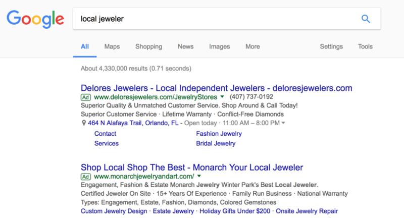 نمایش تبلیغات در گوگل به صورت لینک