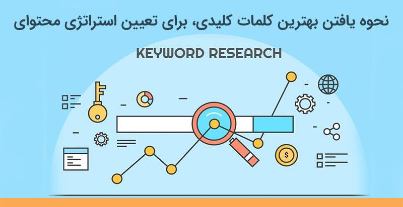 نحوه یافتن بهترین کلمات کلیدی برای تعیین استراتژی محتوایی