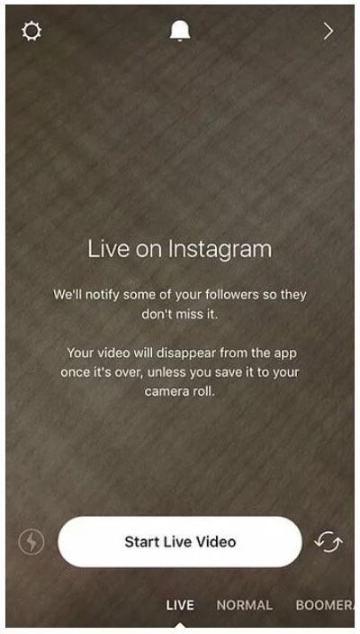 قدرت لایو برای بازاریابی در اینستاگرام